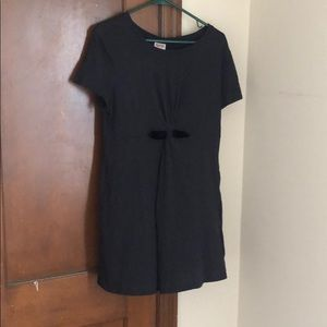 Mossimo Black T-shirt dress